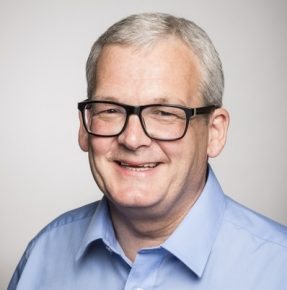 David Reynolds, Corporate Services Director, Langley House Trust and Kainos Community